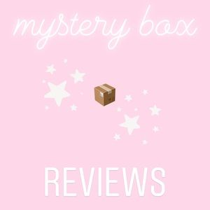 @CadyStringer Mystery Box Reviews & Love Notes!